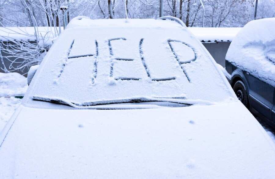 Ziemas radītas problēmas ar auto