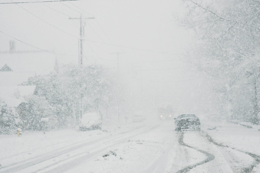 Droša braukšana ziemā.