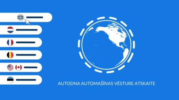 autoDNA Vēstures Atskaites Piemeri