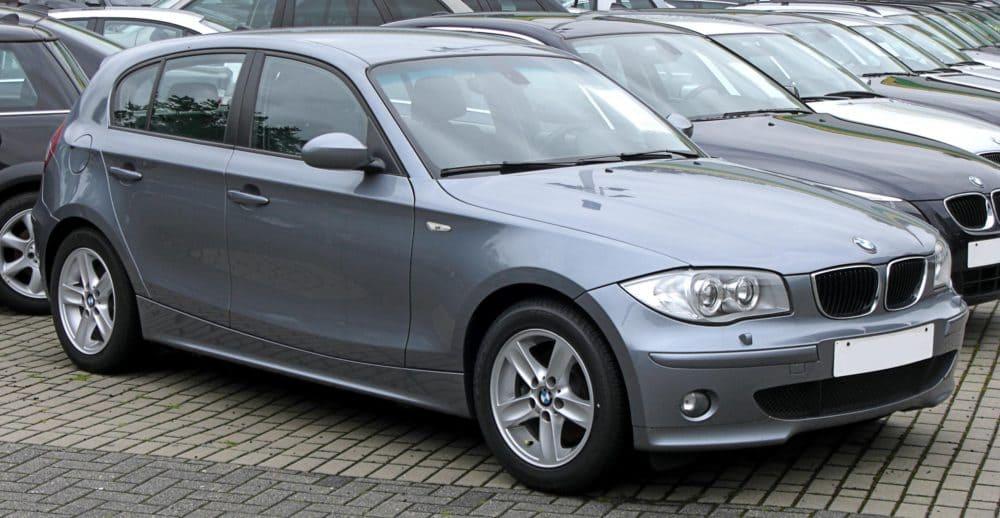 Neuzticams auto BMW 1-Sērija