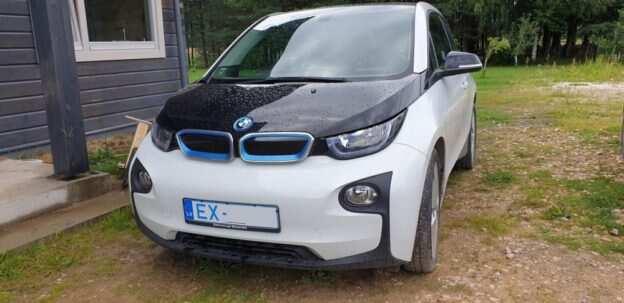 BMW i3 Latvijā