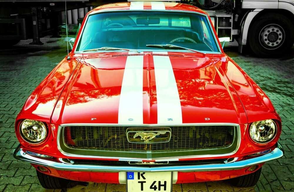Klasiskais Ford Mustang